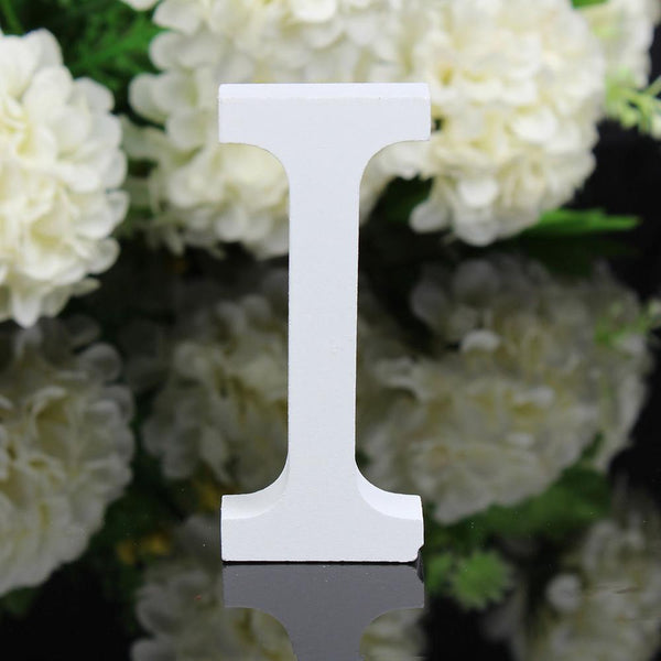 1 PCS Home Decoration Wood Wooden Letter Alphabet Word Free Standing Wedding Part Birthday - BeZONED