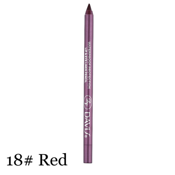 1Pcs Charming Women Longlasting Waterproof Eye Liner Pencil Pigment White Color Eyeliner - BeZONED