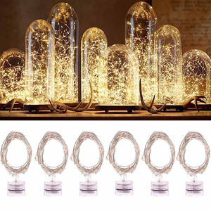 c74f61e91dc 2M String Fairy Light 20 LED Battery Operated Xmas Lights Party Wedding Lamp  Fancy Decoration -