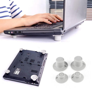 4Pcs New Laptop Cooling Feet Stand Holder Different Height - BeZONED