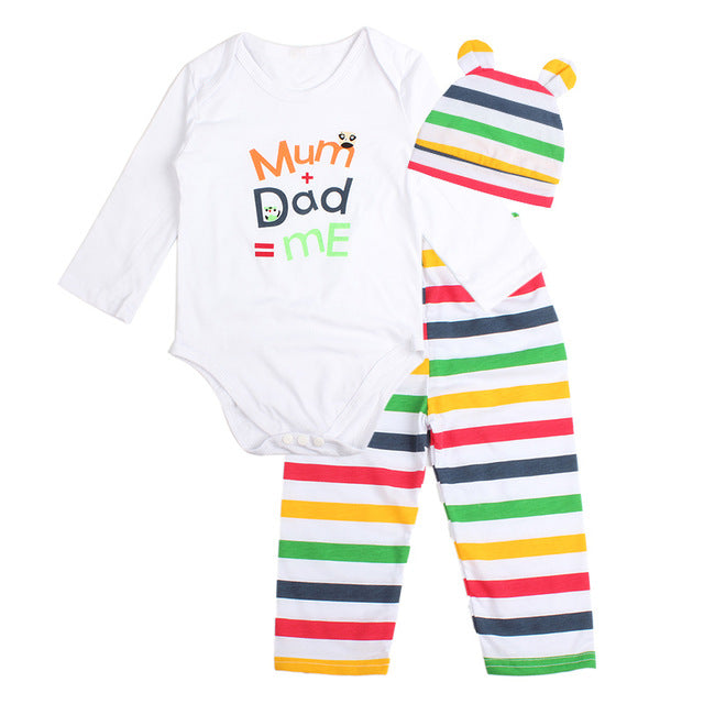 Baby Long Sleeve 3 PCS SET - BeZONED