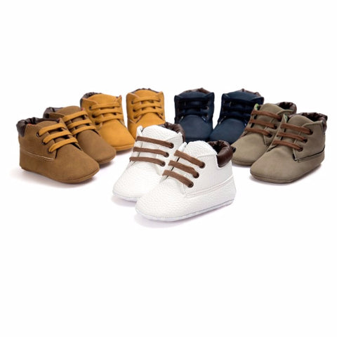 Baby Soft Soled Boots - BeZONED