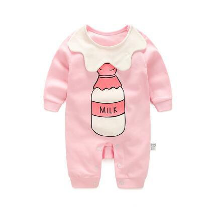 2018 baby autumn spring cotton cartoon Penguin style boy clothes newborn baby girl clothing - BeZONED