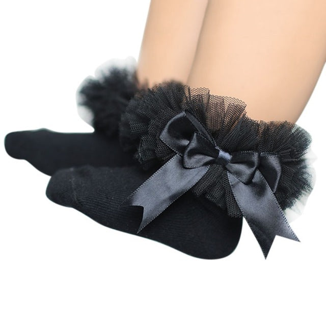 Girl Ankle Bow Socks - BeZONED