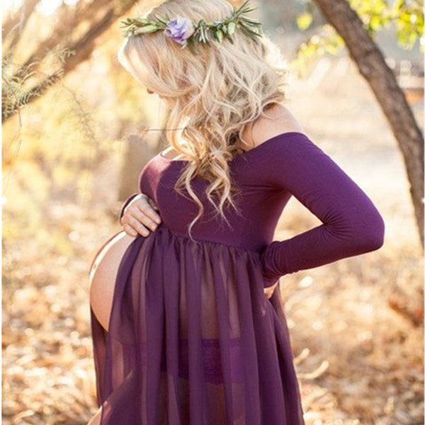 Maternity Dress for Photo Shoot - BeZONED
