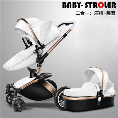 More Gifts!Free Ship! Brand baby stroller 3pcs 3 in 1 baby car Babyfond AULON