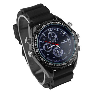 1080P Watch Camera with night vision 8GB