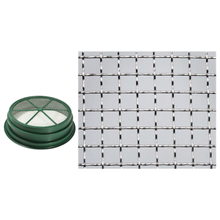 "Load image into Gallery viewer, Wire Sifting Pan (Mesh Size: 1/4"") 