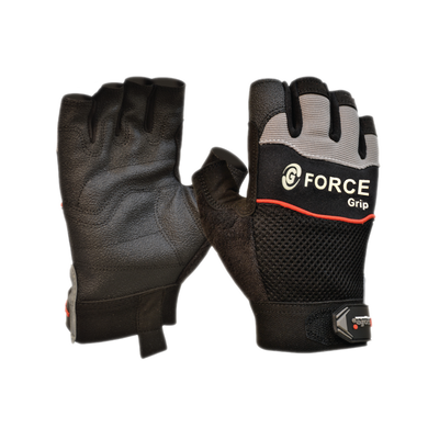 G-Force 'Grip' Fingerless Gloves | MaxiSafe - Prospectors & Miners FNQ
