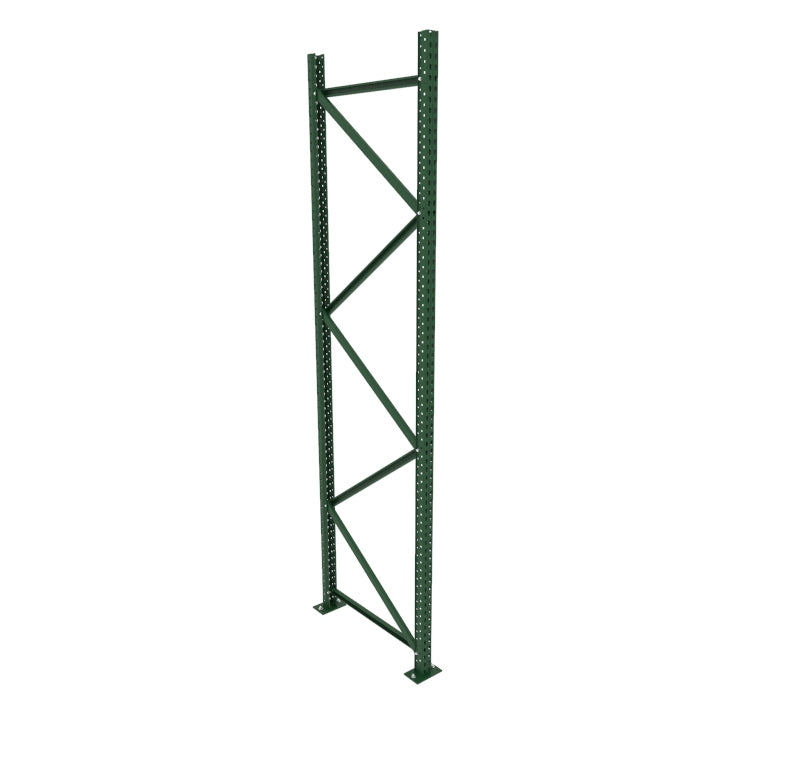 Racking post, pallet rack upright, heavy duty warehouse racking