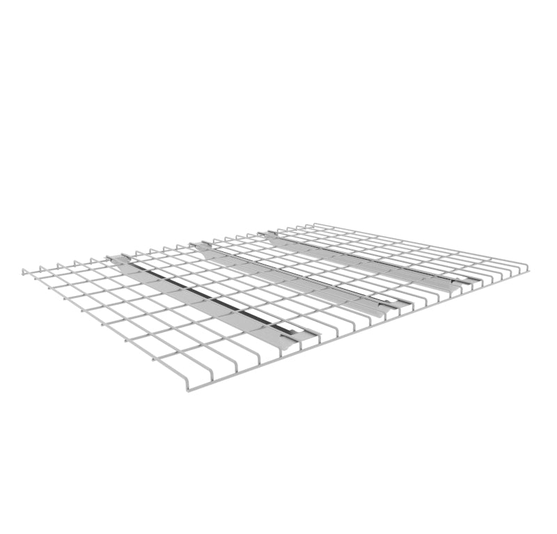 Wire mesh decking, pallet racking shelves, mesh panels