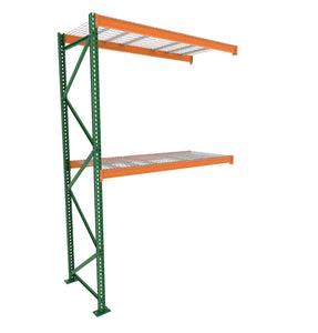 Add on racking unit, pallet racking posts, beams, and anchors