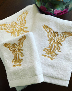 Angel Bath Towel Set