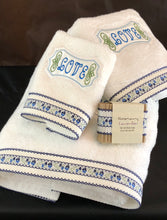 Load image into Gallery viewer, embroidered towel set