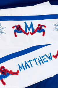 Spiderman Bed Sheet Set