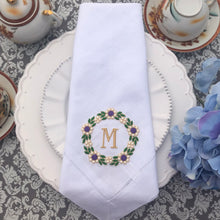 Load image into Gallery viewer, personalized linen napkins
