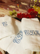 Load image into Gallery viewer, monogrammed towels