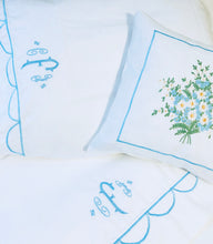 Load image into Gallery viewer, embroidered bed sheets