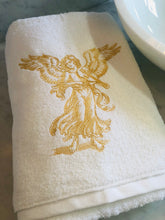 Load image into Gallery viewer, Christmas embroidered bath towel