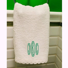 Load image into Gallery viewer, monogrammed hand towel