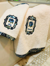 Load image into Gallery viewer, embroidered bath towel