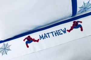 personalized twin sheet set