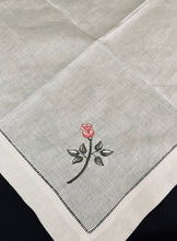 Load image into Gallery viewer, hemstitched linen napkins
