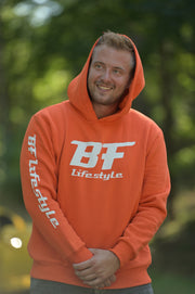 BF Lifestyle Hoodie (Armprint) - Orange
