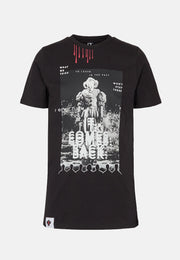 IT Pennywise Tee - Black 🌚 (Lyser i Mørke)-1-FirstGrade