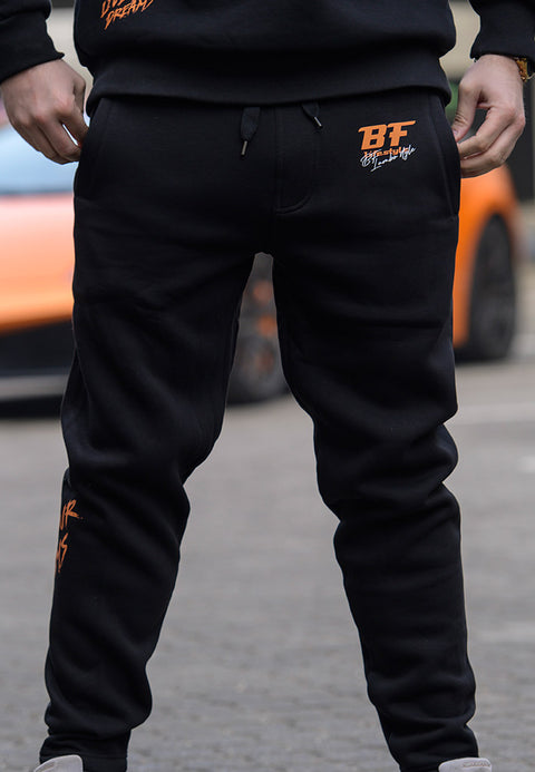 "BF Lifestyle ""Lambo life"" Sweatpants - Black"