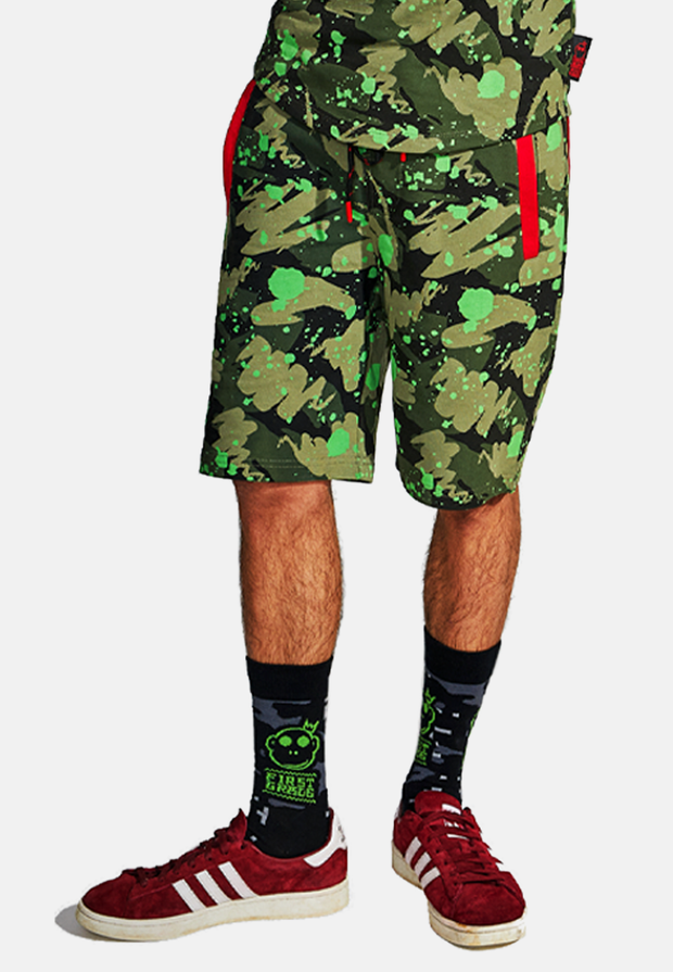 Monkey God Sweat Shorts