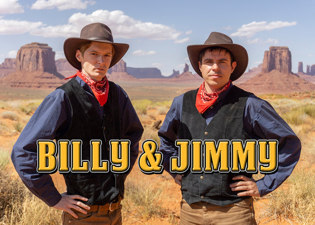 Billy & Jimmy - Western Plakat
