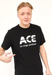 ACE - BIG LOGO / Black Tee