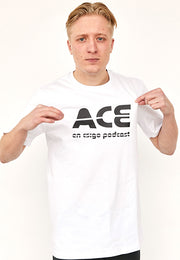 ACE - BIG LOGO / White Tee