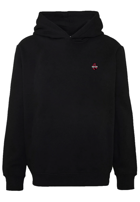 TRICKED / MAIN LOGO LEFT CHEST - Black Hoodie