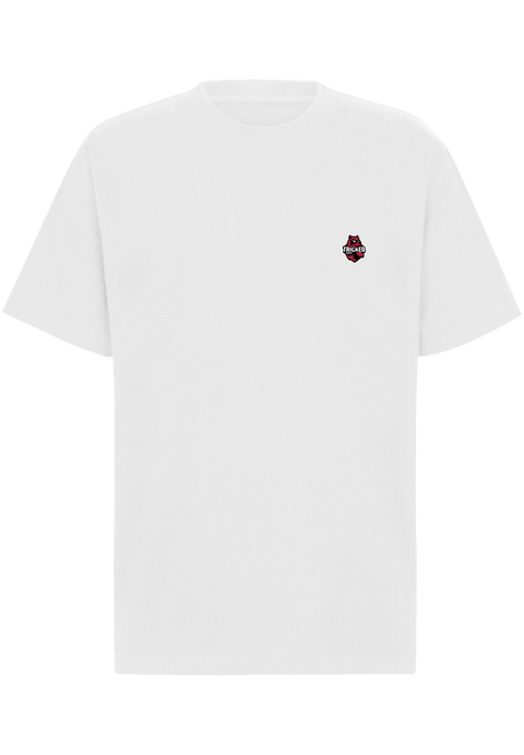 TRICKED / MAIN LOGO LEFT CHEST - White Tee