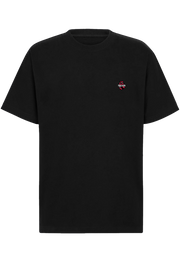 TRICKED / MAIN LOGO LEFT CHEST - Black Tee