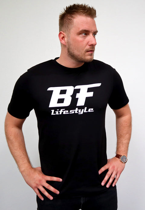 BF Lifestyle Tee - Sort