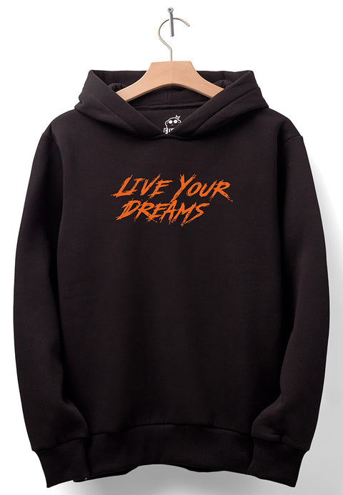 "BF Lifestyle ""Live Your Dreams"" Hoodie - Black"