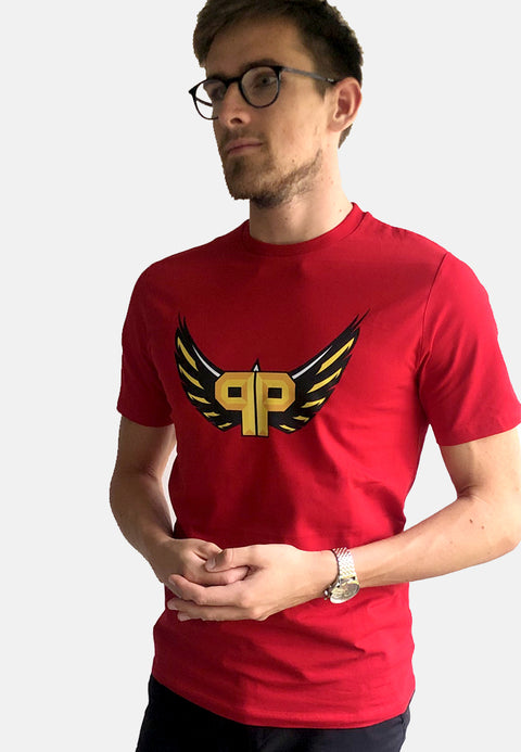 Pimp Winneche Official Big Front - Red Tee