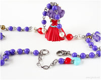 Anthy Himemiya Rosary Necklace, Shoujo Kakumei Utena, Anime Jewelry, Handmade