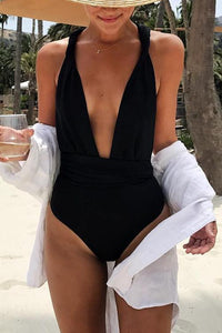 Halter Neck One Pieces Swimwear