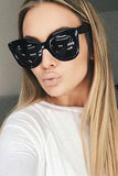 Cool Black Cat Eye Sunglasses