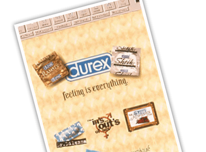 Durex Website Launch