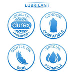 Durex Mutual Climax Condoms - 10s with Tingle Lubricant Gel - 50ml
