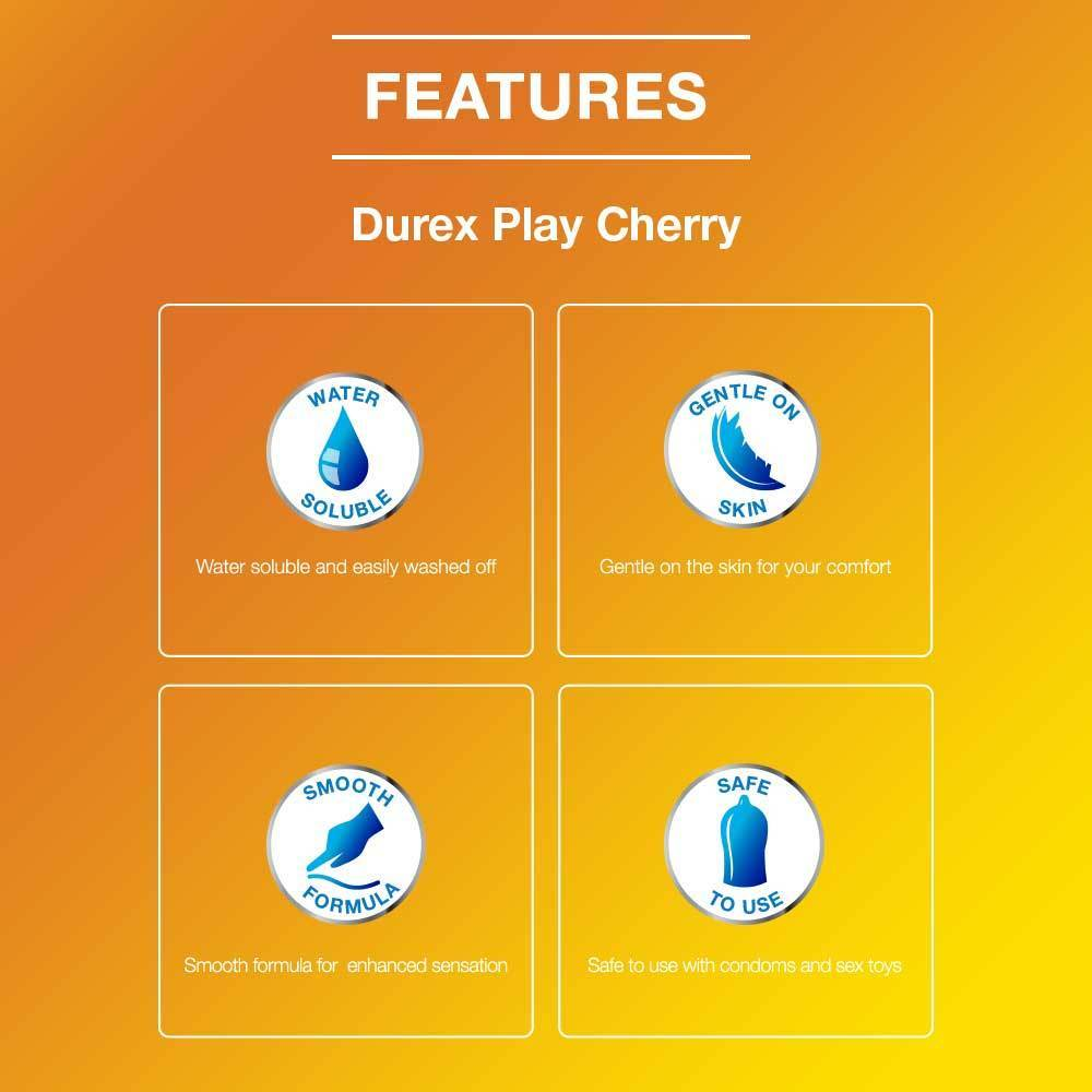Pleasure Pack (Durex Cherry 50ml, Air 10 Units)