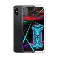 Alien Teleportation - iPhone Case