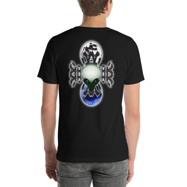 Alien Moon Man - Short-Sleeve Unisex T-Shirt
