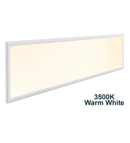 40w Recessed Ceiling LED Panel 3500k Warm White 1200 x 300