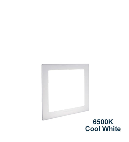 12w Recessed Ceiling LED Square Panel 6500K Cool White 170 x 170